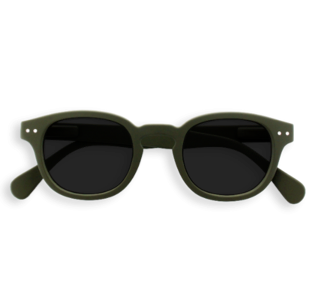 Izipizi Sunglasses - Kaki Green, #C