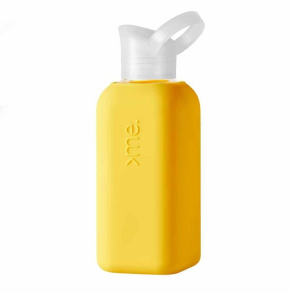 SquireMe - Glass Bottle 500ml, Yellow