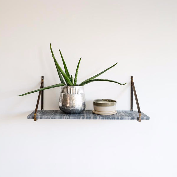 Myna Marble Grey Shelf