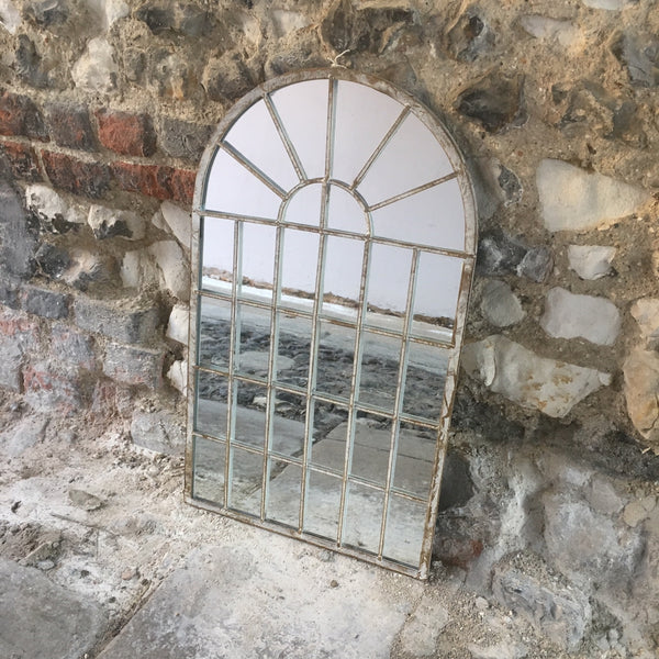 Small Arch Window Mirror