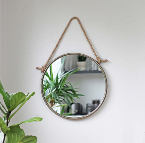 Small Rope Mirror