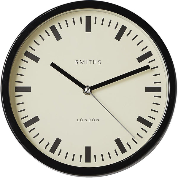 Smiths Metal Wall Clock - 25cm