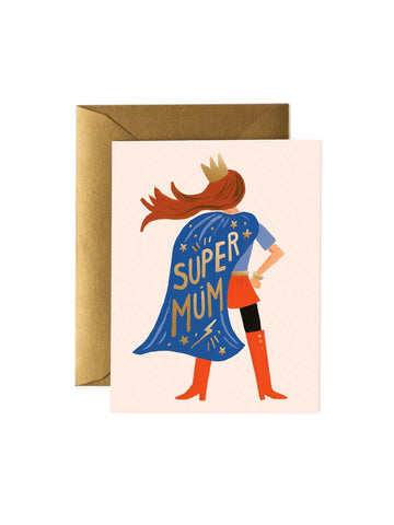Super Mum Card - Rifle Paper