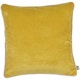 Turmeric LIV Interior Velvet Cushion (60cm)