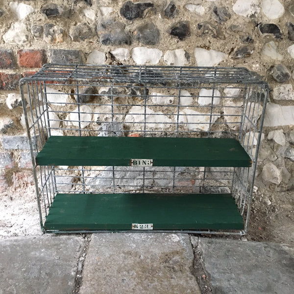 Vintage Metal Shelf Unit