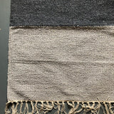 Dark Grey and Grey Rug