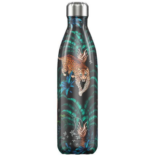 Chilly's  Bottle 750ml - Tropical Leopard
