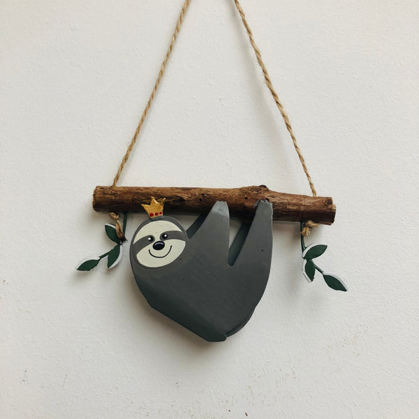 Sloth hanging decoration