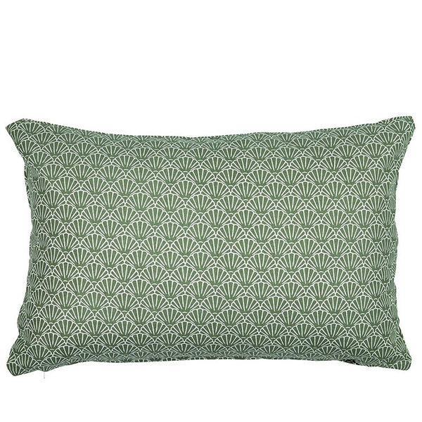 Green Shell Cushion