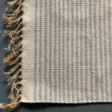 Light Grey and Natural rug 60x90cm
