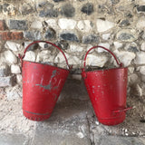 Vintage Hanging Fire Buckets