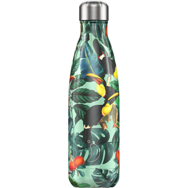 Chilly's Bottle 500ml - Tropical Toucan