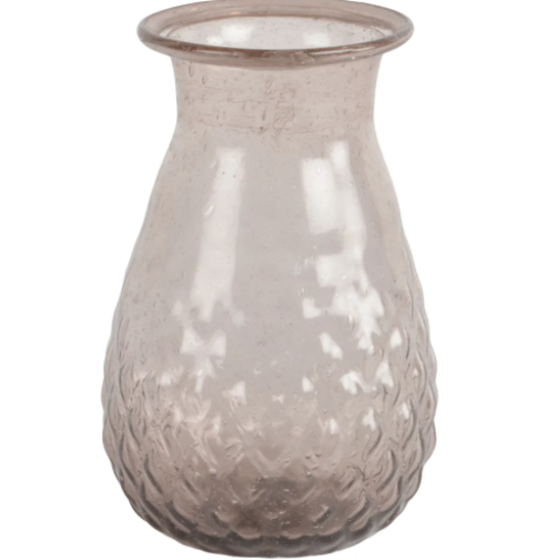Recycled Glass Vase Amethyst - Indus