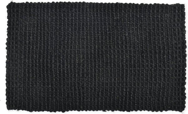 Jute Doormat in Black