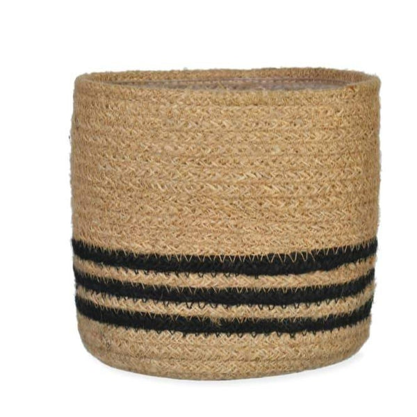Striped Pot - Jute