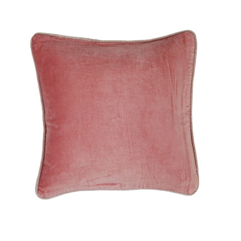 Rose LIV Interior Velvet Cushion (45 cm)