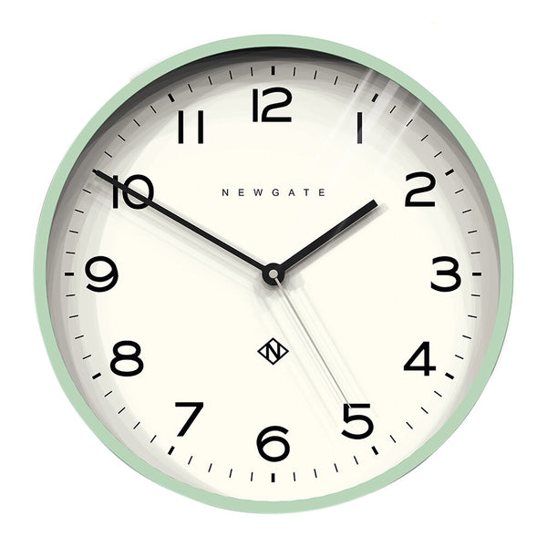 Newgate Mint Green Clock