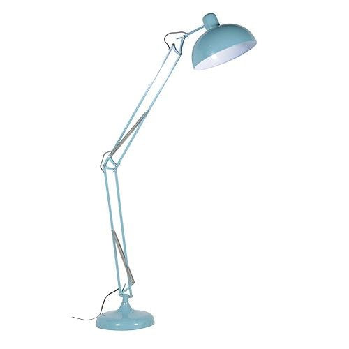 Pale Blue Floor Lamp