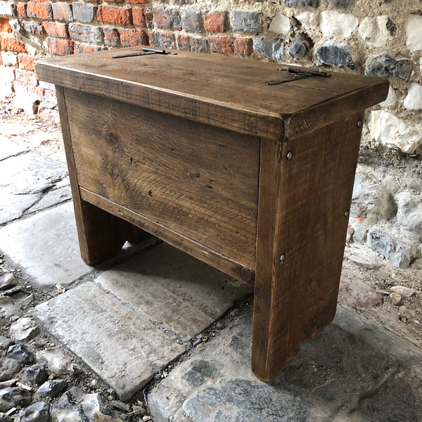 Reclaimed Small Shoe Storage Bench