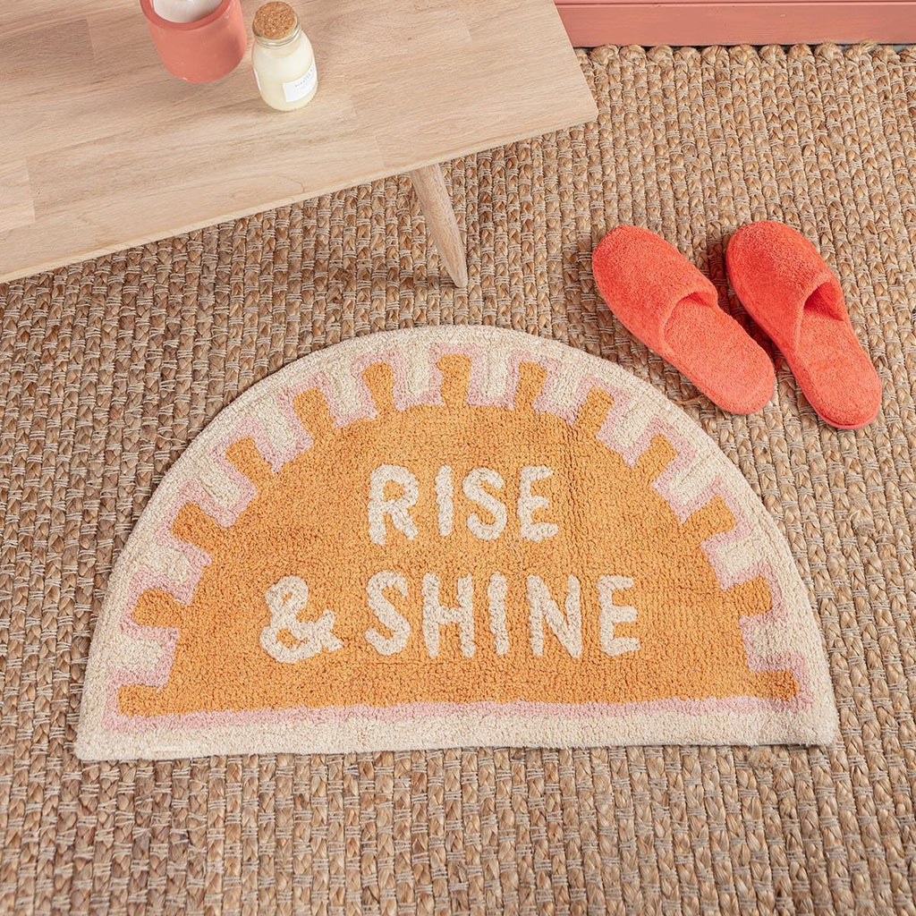 Rise And Shine Bath Mat The Consortium Winchester And Romsey Hampshire