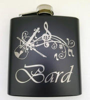 Bard Black Matte Flask