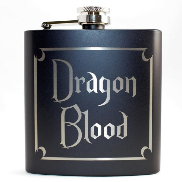 Dragon Blood Black Matte Flask
