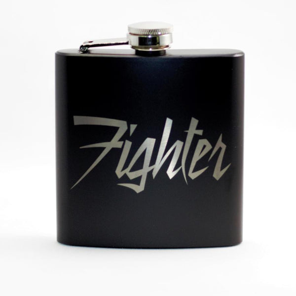 Fighter Black Matte Flask
