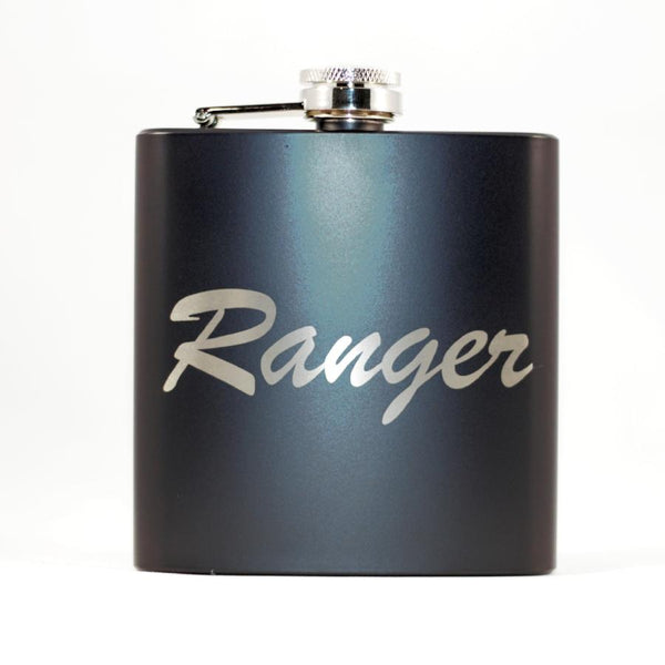 Ranger 2 Black Matte Flask