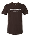 """Stay Grounded"" T-Shirt - Rokah Coffee Club - Los Angeles Coffee Subscription"