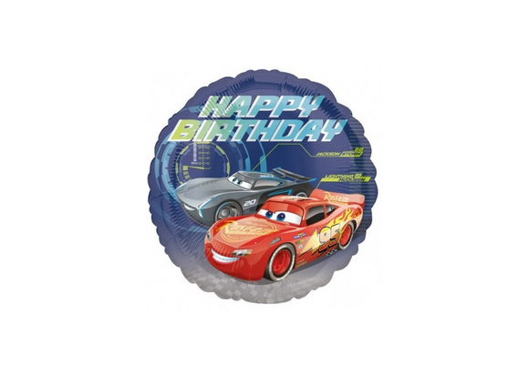 Cars Happy Birthday - 18 inch - Anagram