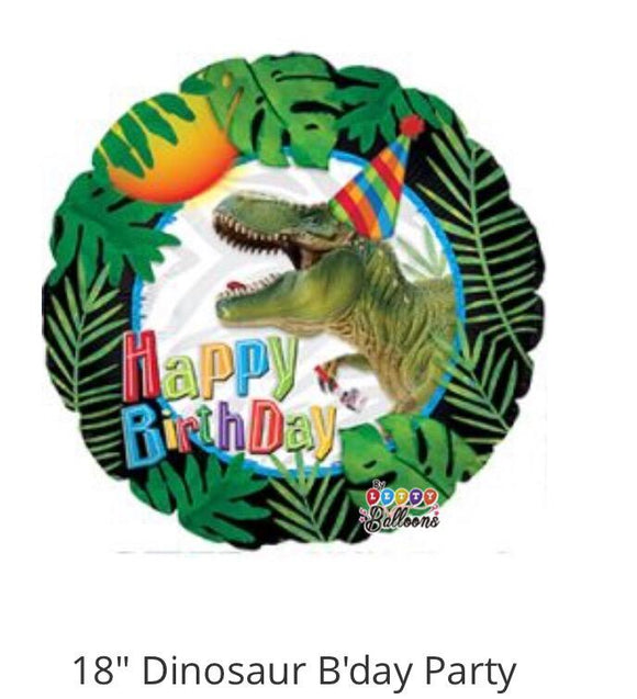 Happy birthday 035 dinosaurio