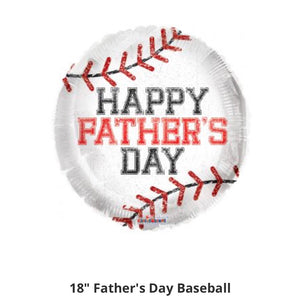 Happy Father's day baseball