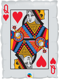 "30"" QUEEN OF HEARTS ACE OF SPADES"