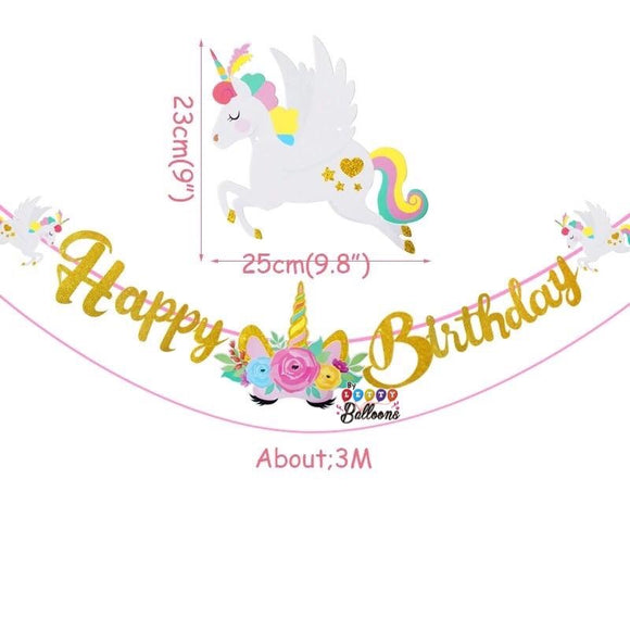 Happy Birthday Unicornio
