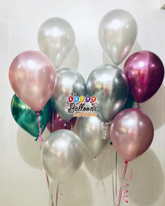 12 Globos latex 12""