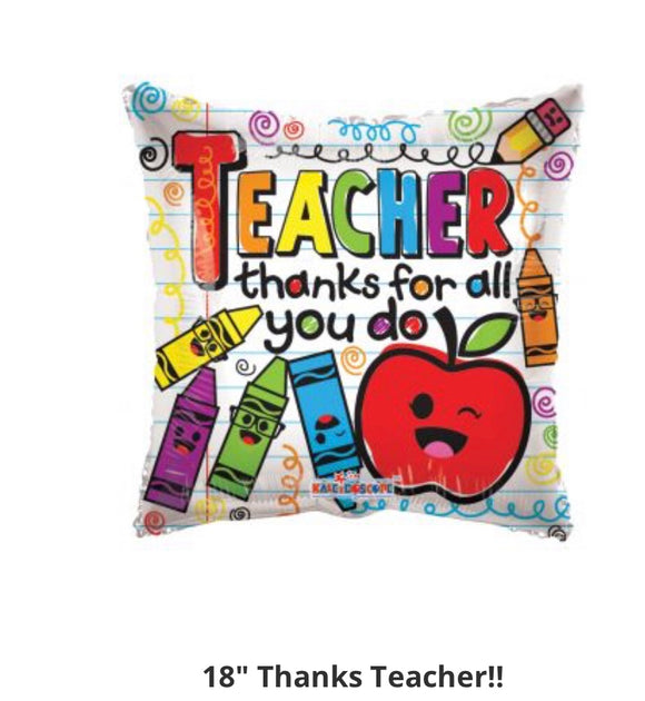Teacher thanks for all you do