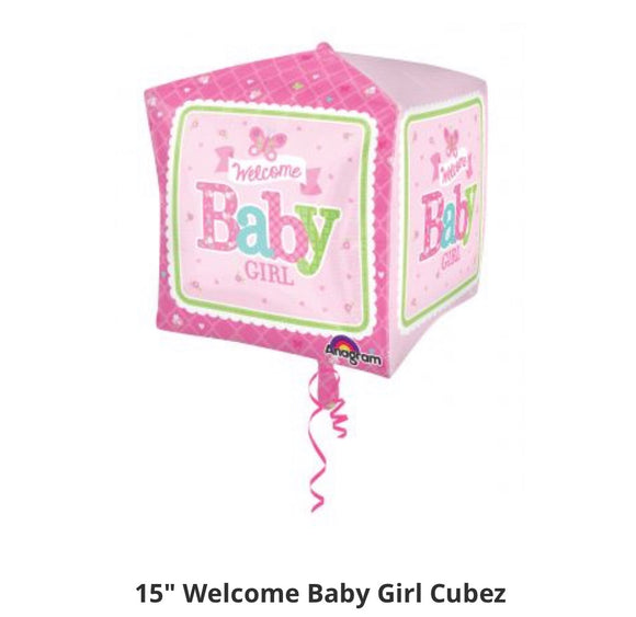 "Welcome baby girl cubez ""15"""