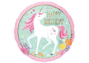 Happy Birthday Unicorn - 18 inch - Anagram