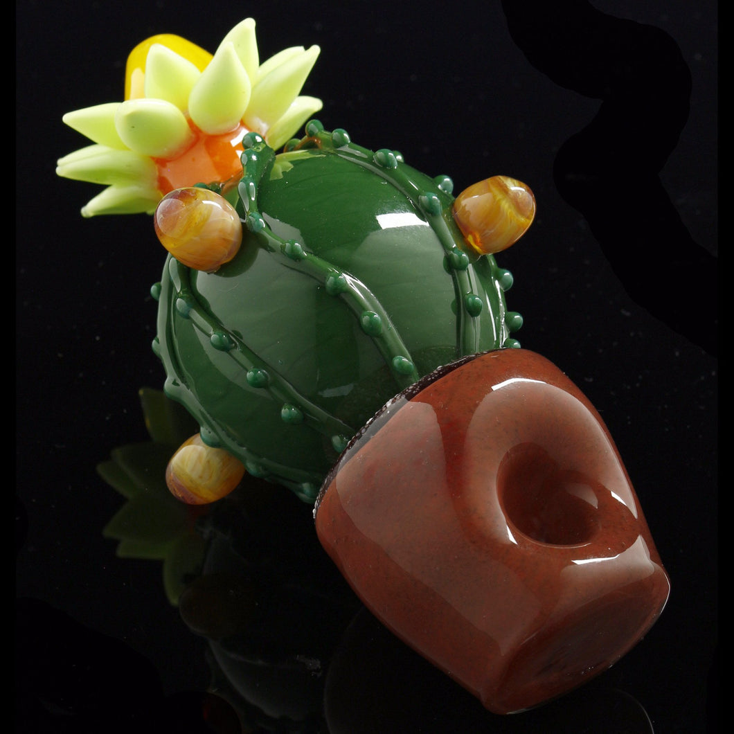 Duggin Smoke Succulent Cactus Planter Spoon Pipe