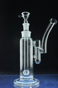 """The Crusader"" Double Chambered Bubbler with Detachable Showerhead Downstem"
