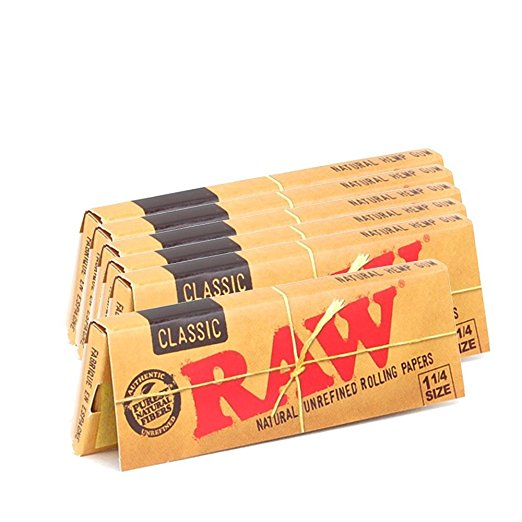Raw Classic Papers 1 1/4' Size (2 Packs)