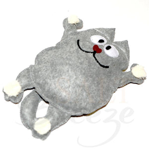 Healing and aromatherapy salt toy cat