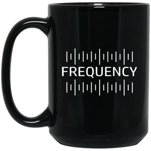 FREQUENCY | Black Mug