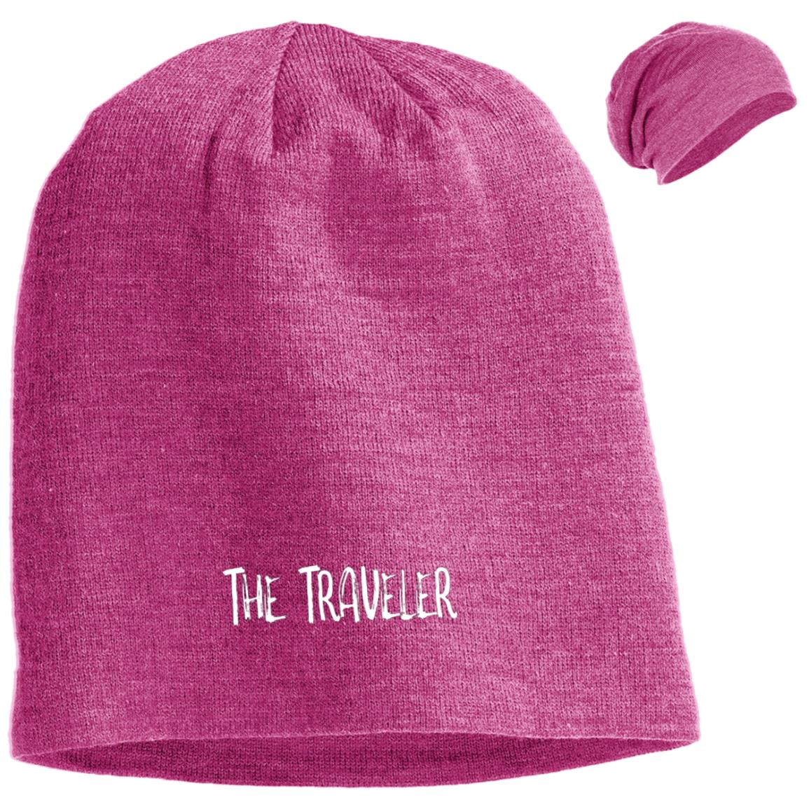 The Traveler  | Uni-sex Slouch Beanie