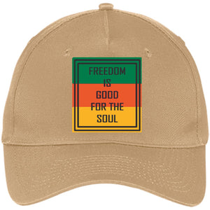 Freedom is Good | Five Panel Twill Cap