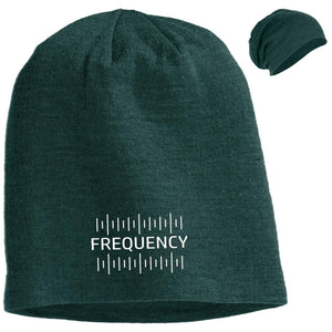 FREQUENCY  | Uni-sex Slouch Beanie