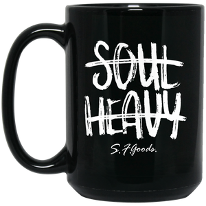 SOUL Heavy | Black Mug