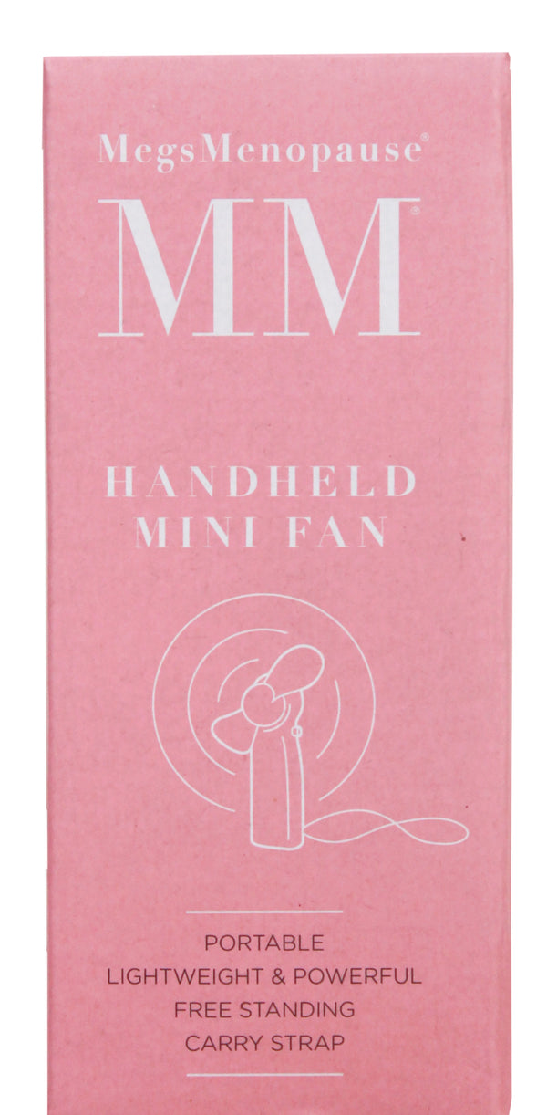MegsMenopause Handheld Mini Fan