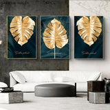 Plant Leaf Canvas Posters Painting