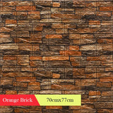 Wallpapers Home Improvement 3D Retro Simulated Brick